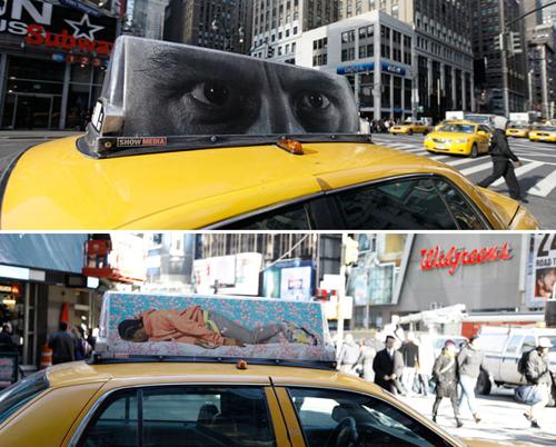Taxi art nyc