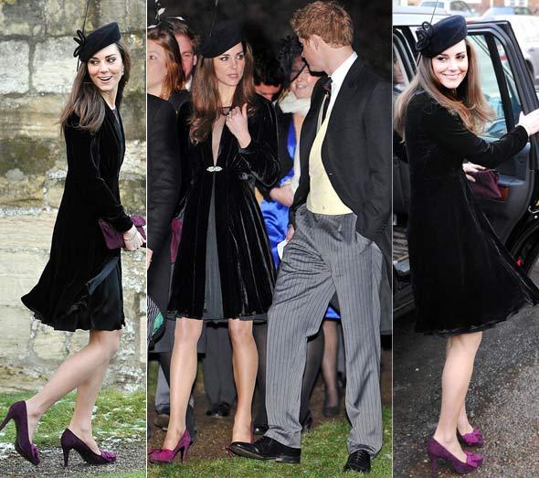 Kate Middleton Wears Black To A Wedding Fashion Faux Pas Or Simply