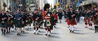 Tartan parade