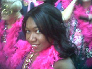 Wanda NOLA pink boa