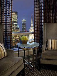 Hotel zero room view