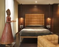 Urban hotel madrid bedroom
