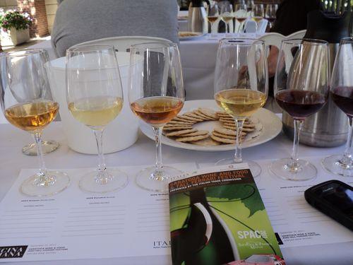 Anfora wine flight