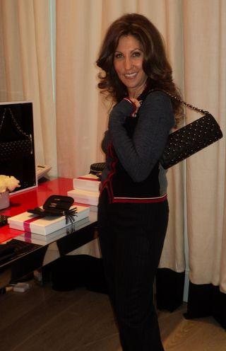 Sonia Kashuk and bag