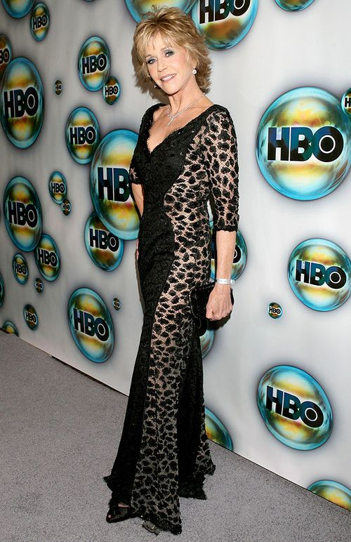 Jane Fonda Golden Globes