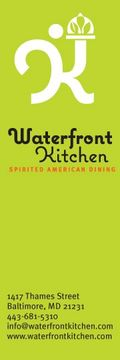 Waterfront kitchen