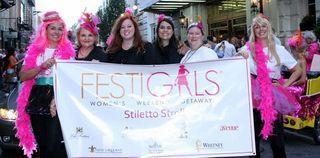 FestiGals Stiletto Stroll