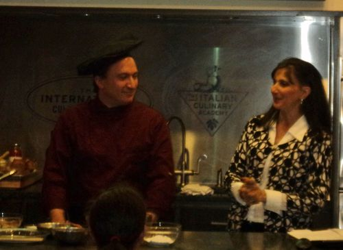 Francine Segan  Chef Emilio