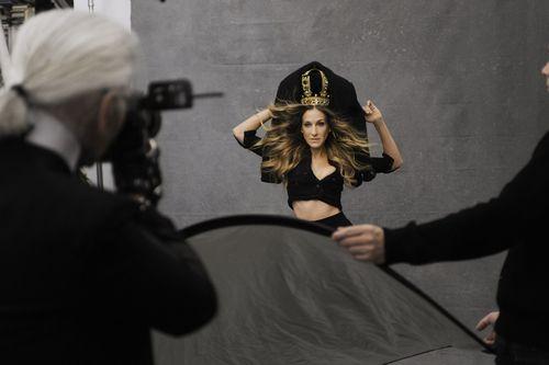 Karl Lagerfeld Sarah Jessica Parker Black Jacket