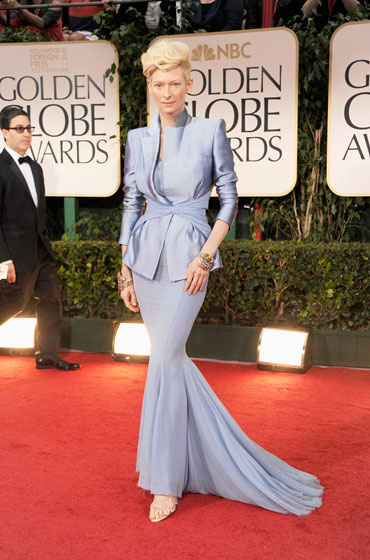 Tilda swinton golden globes