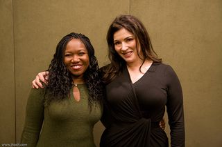 Wanda and Nigella Lawson