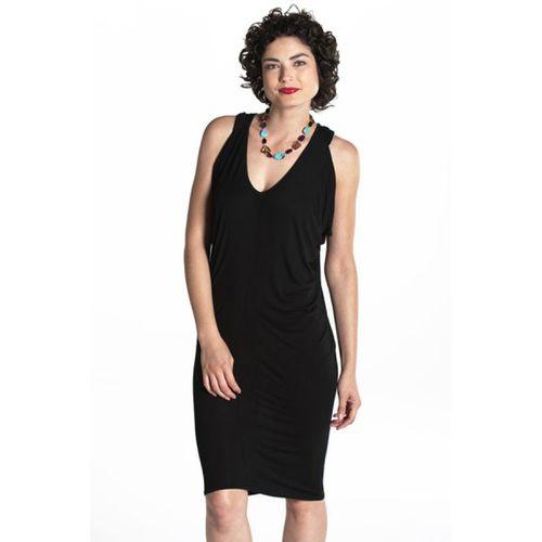 Angelique-draped-sleeveless-mini 1