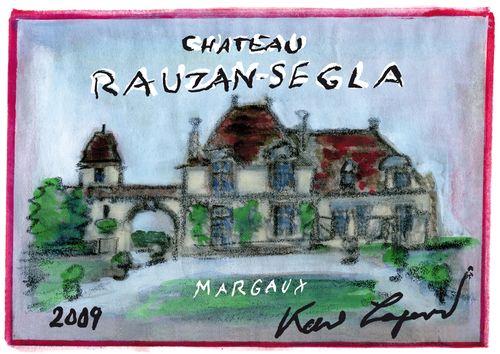 HIGH RES - LABEL - Ch+óteau Rauzan-Segla 2009