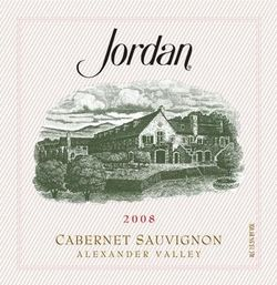 Jordan Winery Cabernet 2008