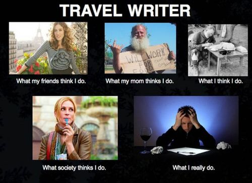Travel writer infographic