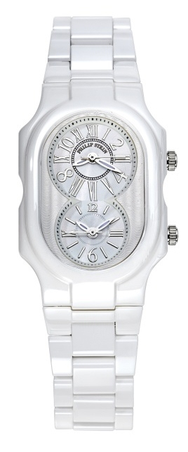 Philip Stein Ceramic White Watch