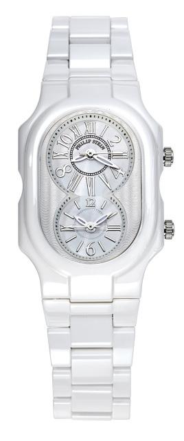 Philip Stein Ceramic White Watch