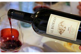 Il Borro wine bottle