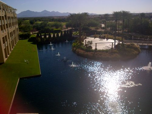 JW Marriott Desert Ridge Room View