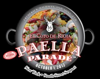 Paella parade 2012