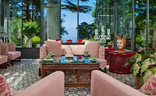 Villa le Scale Veranda Lounge