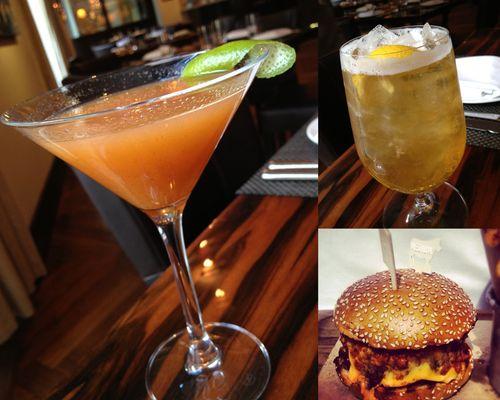 BLT Burger Inaugural Drinks