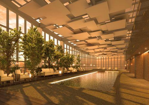 Park Hyatt Busan swimming pool