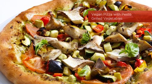 Oscar vegan pizza