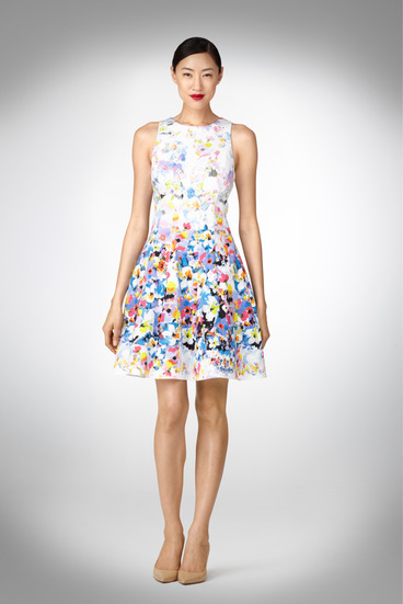 Maggy London Pansy Print