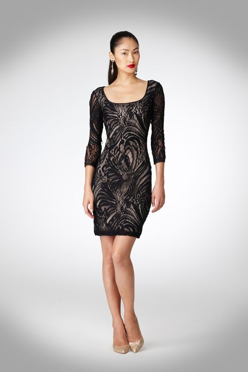 Maggy London Swirl Lace Dress