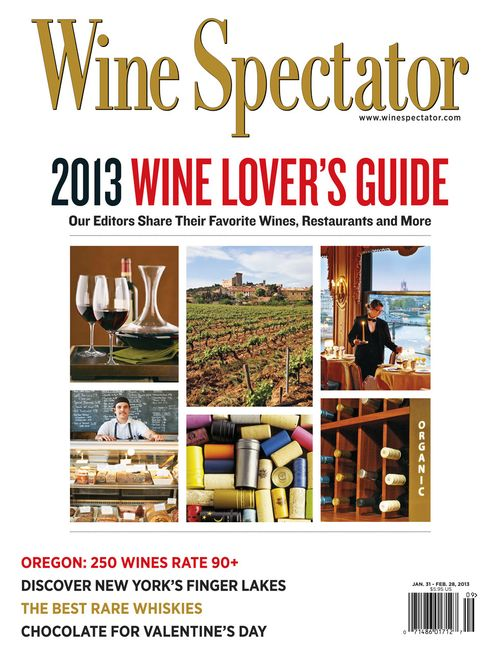 Wine Spectator Feb 28 Issue Cover