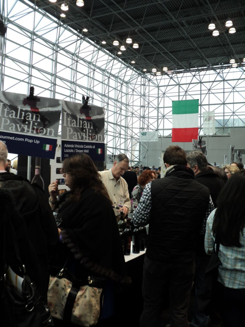 Italian Pavillion NY Wine Expo