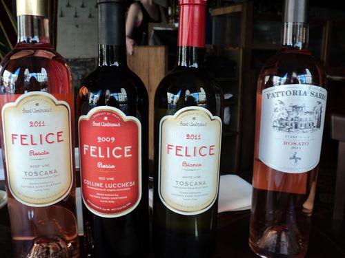 Felice wines