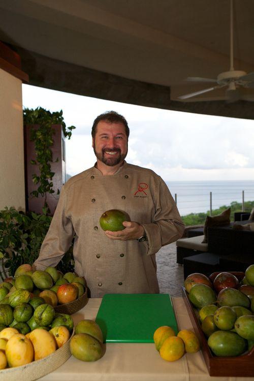 Chef Allen Susser Mango St. Lucia