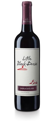 Stylish Sip Little Black Dress Divalicious Wines The