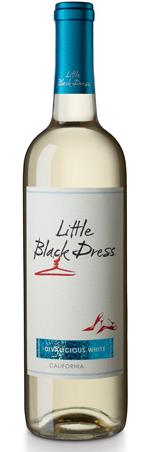 Little Black Dress Divalicious White