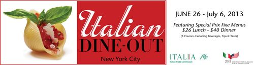 Italian Dine Out NYC