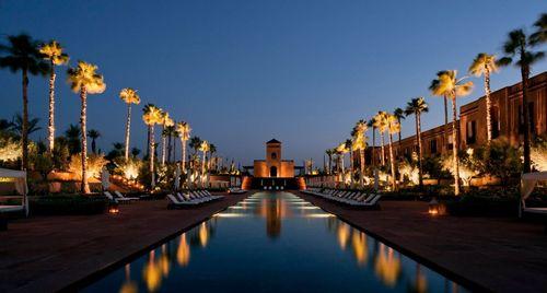 Selman Marrakech pool