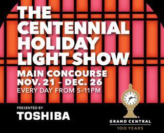 Grand Central Light Show