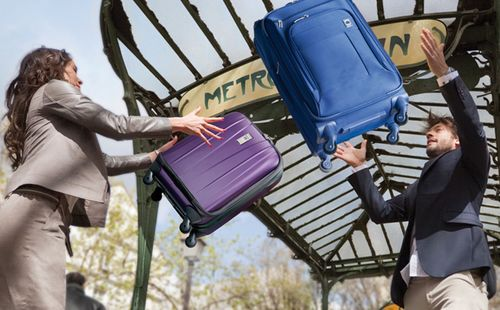 Delsey Luggage Paris