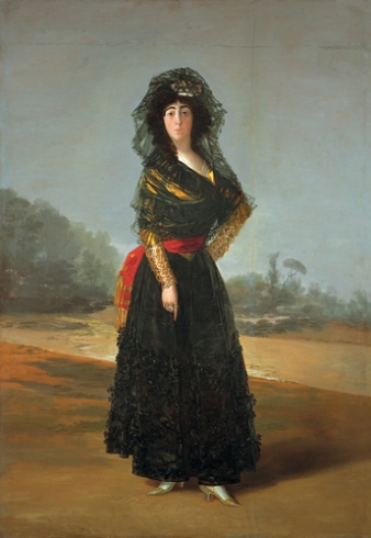 Duchess of alba goya
