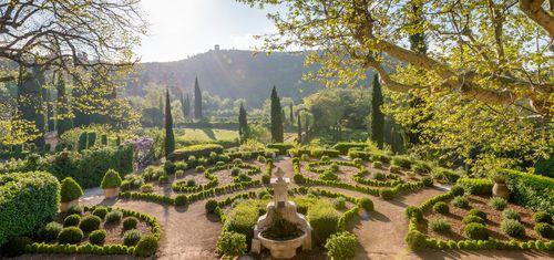 Domaine de la Baume formal Garden