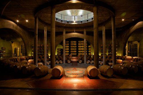MG_5596 Salentein Barrel Room