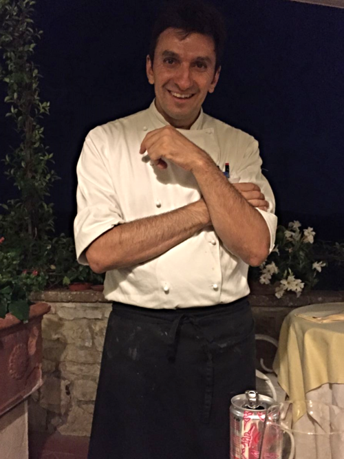 Chef Francesco Pineo