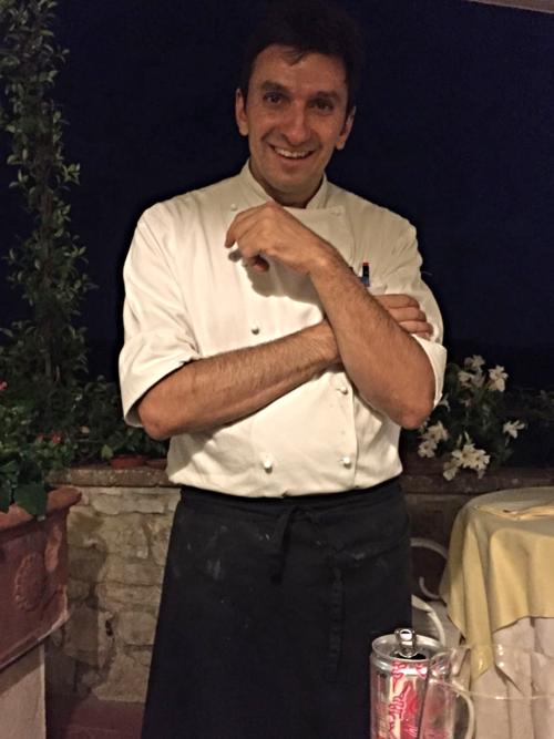 Chef Francesco Pineo