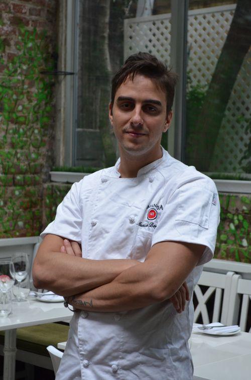 Chef Manuel Berganza Andanada