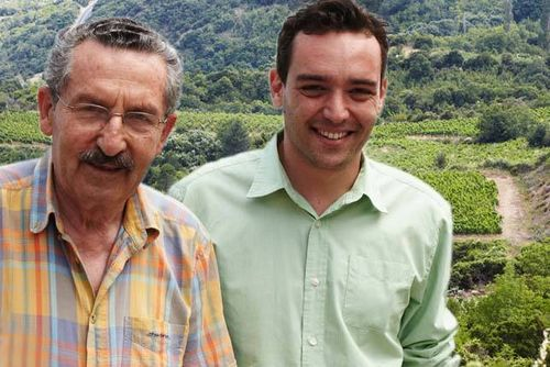 Domaine katsaros father and son