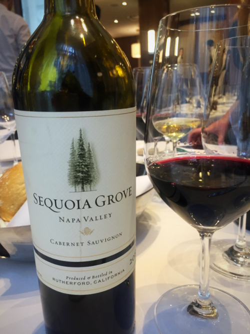 Sequoia Grove Cabernet wine