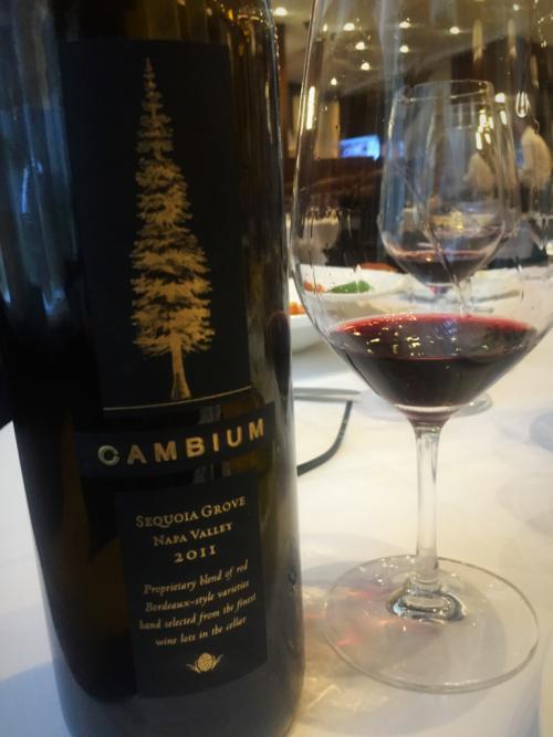 Sequoia Grove Cambium wine