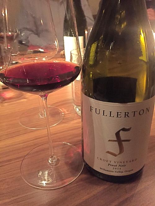 Fullerton Croft Pinot Noir